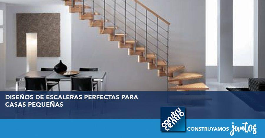 Diseños perfectos de escaleras para casas pequeñas